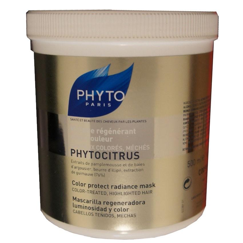 Phyto Phytocitrus Color Protect Radiance Mask Salon Size